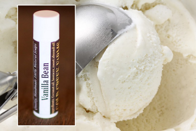 natural vanilla lip balm